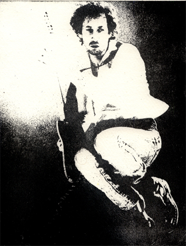 Pete Townshend the Who Intagliotypie Tiefdruck